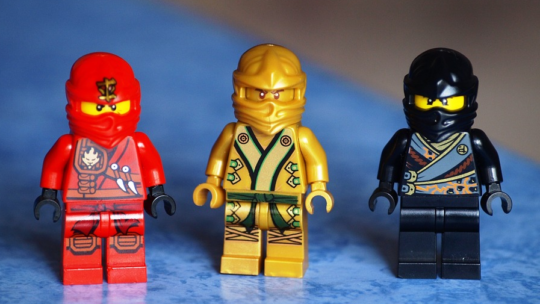 Interessante Figuren von Lego Ninjago