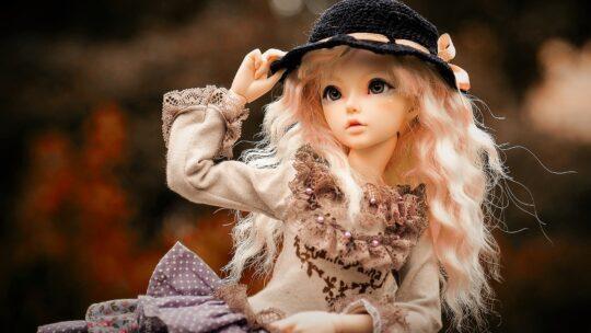 Wunderschöne Puppen zum Sammeln