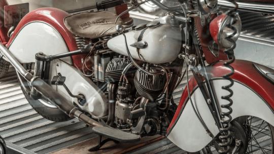 Alles parat – Motorrad Montageständer Set